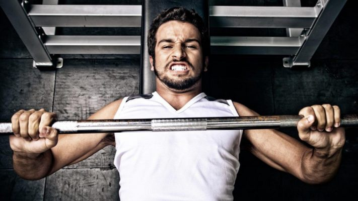 barbell for biceps