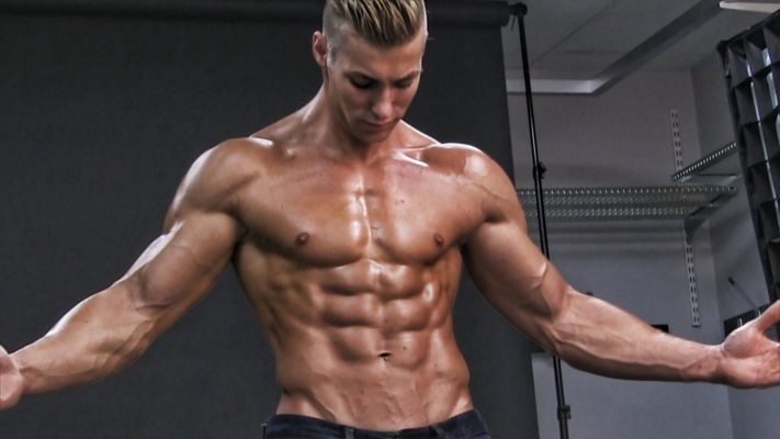male muscle growth transformation